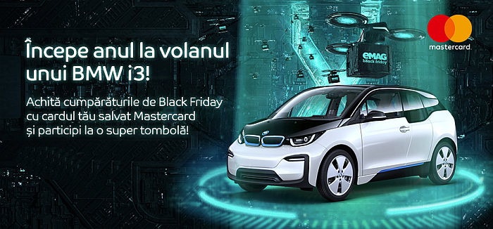 tombola BMW i3 eMAG Black Friday 2020