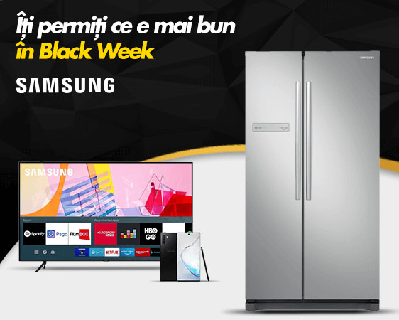 Samsung Black Week Flanco